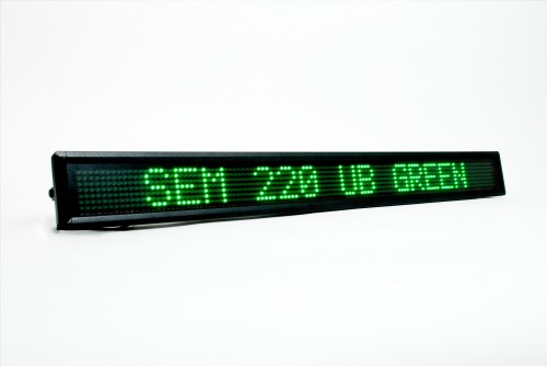 ATS_SEM_220_Green_LED_Display_Board